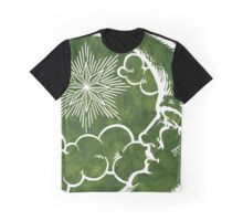 Moon vintage green Graphic T-Shirt