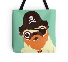 Pug in a crew Tote Bag