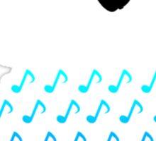 Rainy Day Playlist Sticker