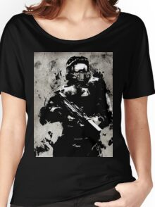 Halo Guardians Master Chief Artwork Women's Relaxed Fit T-Shirt