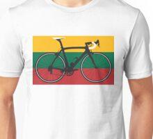 Bike Flag Lithuania (Big - Highlight) Unisex T-Shirt
