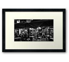 GoodTimes in Hardware Lane Framed Print
