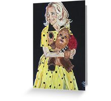 Blanche and Chewy Greeting Card