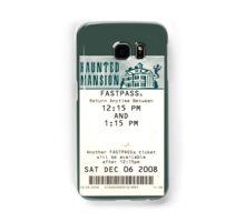 Haunted Mansion Fastpass Samsung Galaxy Case/Skin