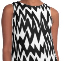 Music/Humour - Stressed Out Pattern Contrast Tank