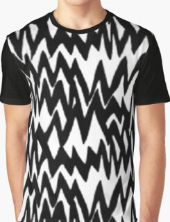 Music/Humour - Stressed Out Pattern Graphic T-Shirt