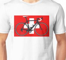 Bike Flag Switzerland (Big - Highlight) Unisex T-Shirt