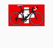 Bike Flag Switzerland (Big - Highlight) Unisex T-Shirt