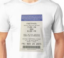 Hyperspace Mountain Fastpass Unisex T-Shirt
