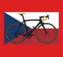 Bike Flag Czech Republic (Big - Highlight) Kids Clothes