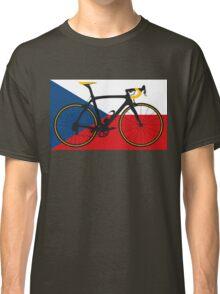 Bike Flag Czech Republic (Big - Highlight) Classic T-Shirt