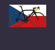 Bike Flag Czech Republic (Big - Highlight) Unisex T-Shirt