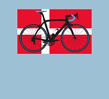 Bike Flag Denmark (Big - Highlight) Unisex T-Shirt