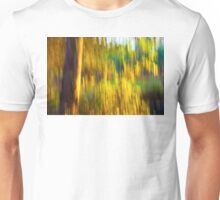 Abstract Nature -  Blurred Trees Unisex T-Shirt