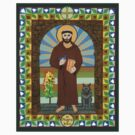 St. Francis of Assisi Icon by David Raber