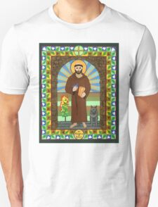 St. Francis of Assisi Icon T-Shirt