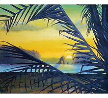 Sunset Over The Pacific (Ecuador) Photographic Print