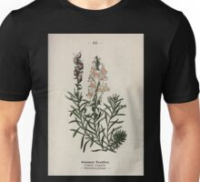 Wayside and woodland blossoms a pocket guide to British wild flowers for the country rambler  by Edward Step 1895 105 Common Toadflax Unisex T-Shirt
