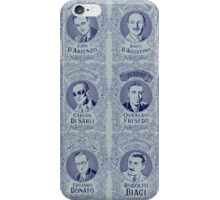 Tango Orchestra Leaders (in Blue) iPhone Case/Skin