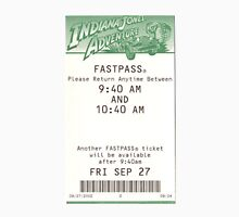 Indiana Jones Adventure Fastpass Unisex T-Shirt