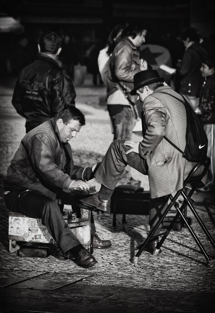 Shoe Shine by Ursula Rodgers