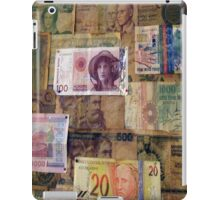 Bank notes iPad Case/Skin