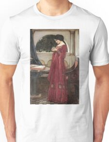 John William Waterhouse - The Crystal Ball . Woman portrait: sensual woman, girly art, female style, pretty women, femine, beautiful dress, cute, creativity, love, sexy lady, erotic pose Unisex T-Shirt