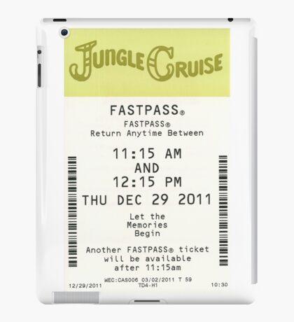 Jungle Cruise Fastpass iPad Case/Skin