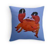 Fly a Kite !  (pillow crab) Throw Pillow