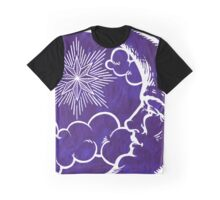 Moon vintage violet Graphic T-Shirt