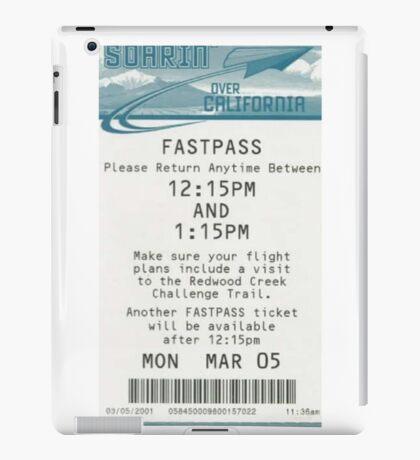 Soarin' Over California Fastpass iPad Case/Skin