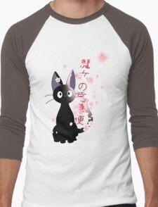 Jiji Men's Baseball ¾ T-Shirt