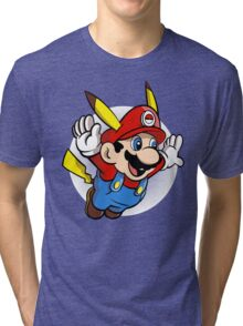 Super Pika Bros. Tri-blend T-Shirt