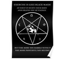Black Magic Exercise Poster
