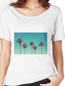 California Palm Trees Women's Relaxed Fit T-Shirt