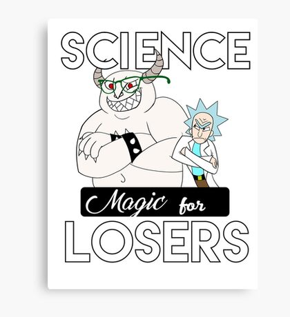 Magic for Losers Canvas Print