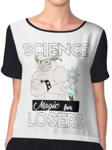 Magic for Losers Chiffon Top