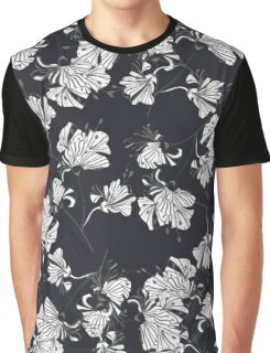 Abstract background of flowers Graphic T-Shirt