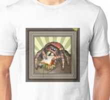 """""""Lunch on the Fly"""" Jumping Spider Sandwich Unisex T-Shirt"""