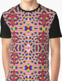 Psychedelic Abstract colourful work 243 Graphic T-Shirt