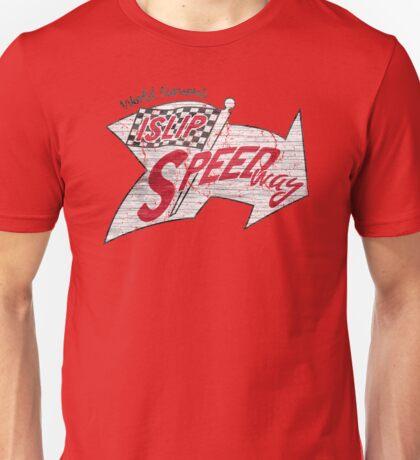 World Famous Islip Speedway Unisex T-Shirt