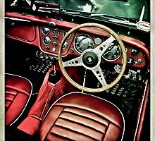 Red Leather interior  by kipperklock