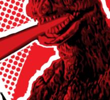 Godzilla Returns Sticker
