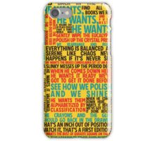 Fun Home - Welcome to Our House on Maple Ave - He Wants iPhone Case/Skin