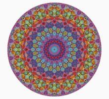 Geometric Mandala One Piece - Long Sleeve