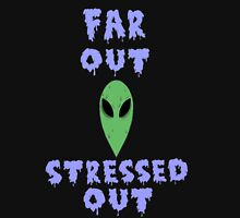 far out. stressed out. Women's Tank Top
