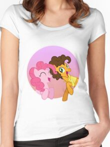 Pinkie Sandwich Women's Fitted Scoop T-Shirt