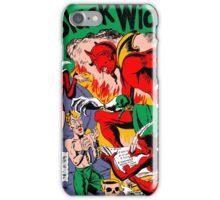 Black Widow Comic Page iPhone Case/Skin