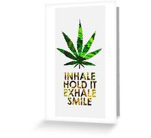 Green Summer Greeting Card