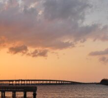 Charlotte Harbor at Sunset, As Is Sticker
